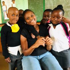 Ronewa, Au pair from South africa