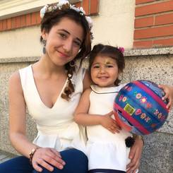 Alejandra, Au pair from Spain