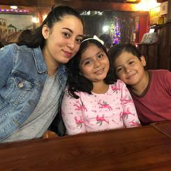 Angel, Au pair from Mexico