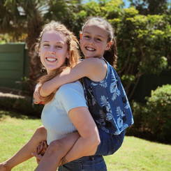 Josephine, Au pair from South africa