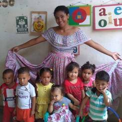 Katty, Au pair from Colombia