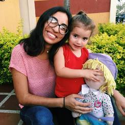 Laura, Au pair from Venezuela