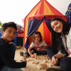 Melissa, Au pair from Colombia