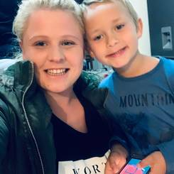Lehandre, Au pair from South africa