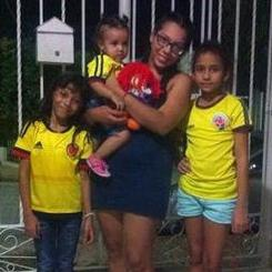 Melany, Au pair from Colombia
