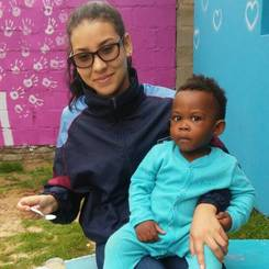 Nicole, Au pair from Namibia