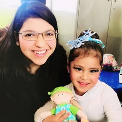 Andrea, Au pair from Mexico