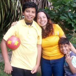 Haudrymara, Au pair from Venezuela