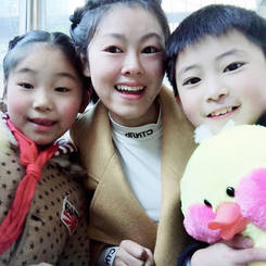 Qin, Au pair from China