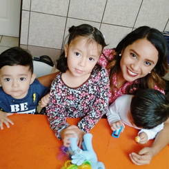 Mildred, Au pair from Mexico