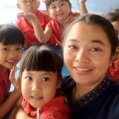 Chayanit, Au pair from Thailand