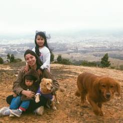 Angelica, Au pair from Colombia