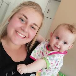 Johane, Au pair from South africa