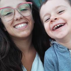 Maria, Au pair from Italy