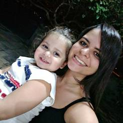 Carla, Au pair from Brazil