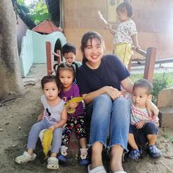 Wasunthara, Au pair from Thailand