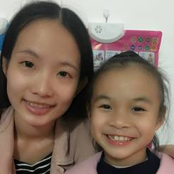 Yuhan, Au pair from China