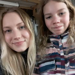 Ruusa, Au pair from Finland