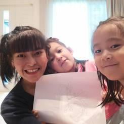 Suphinya, Au pair from Thailand