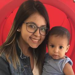 Paola, Au pair from Venezuela