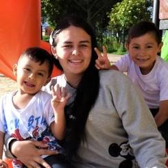 Nikol, Au pair from Colombia