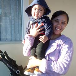Tamia, Au pair from South africa