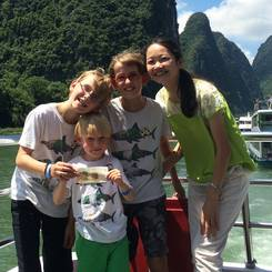 Wenli, Au pair from China