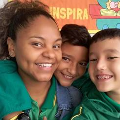 Amparo, Au pair from Colombia