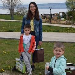 Joanne, Au pair from France
