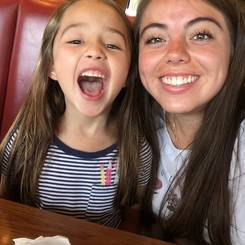 Paloma, Au pair from Mexico
