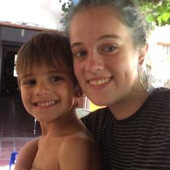 Malena, Au pair from Argentina