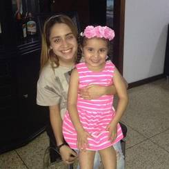 Willianny, Au pair from Venezuela