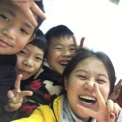 Jing, Au pair from China