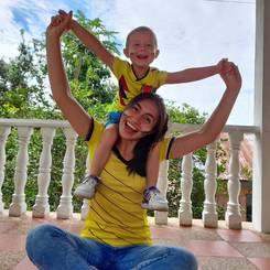 Wendy, Au pair from Colombia