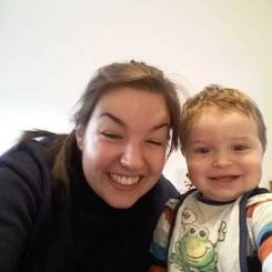 Gloria, Au pair from Germany
