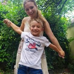 Morgane, Au pair from France
