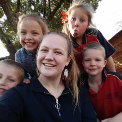 Adele, Au pair from South africa