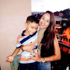 Yesica, Au pair from Colombia