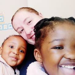 Sade, Au pair from South africa
