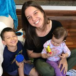 Laura, Au pair from Brazil