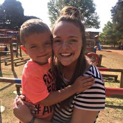 Aney, Au pair from South africa