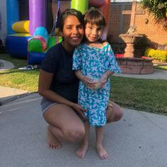 Paola, Au pair from Mexico
