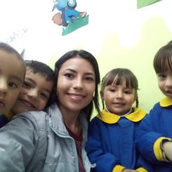 Jeidy, Au pair from Colombia