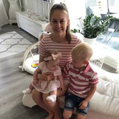 Anni, Au pair from Finland