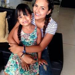 Stephania, Au pair from Colombia