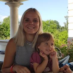 Anthea, Au pair from Germany