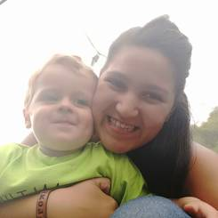 Salome, Au pair from South africa