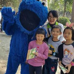 Chih, Au pair from Taiwan