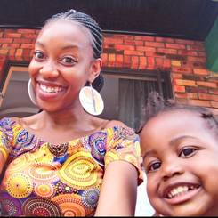 Kholakele, Au pair from South africa