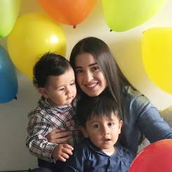 Estefany, Au pair from Colombia